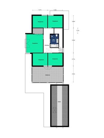 Floorplan - Beusichemsetuin 6, 3994 PC Houten