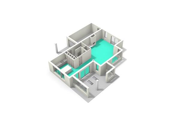 Floorplan - Satijnvlinder 31, 3544 VX Utrecht