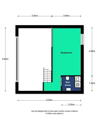 Floorplan - Sigmund Rombergstraat 35, 3543 GC Utrecht