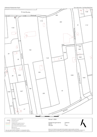 Floorplan - Karstraat 1, 6665 LD Driel