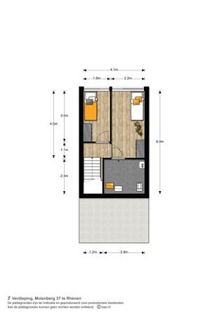 Floorplan - Molenberg 37, 3911 PR Rhenen