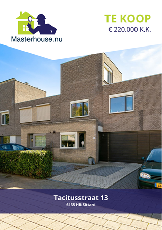 Brochure preview - Tacitusstraat 13, 6135 HR SITTARD (1)