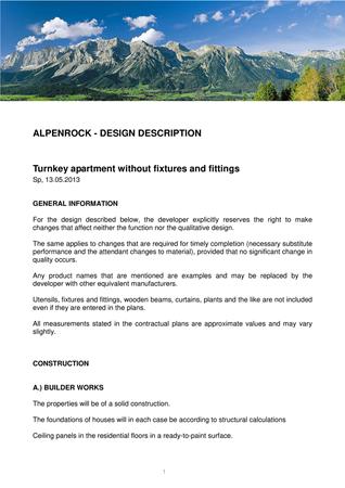 Brochure preview - Design Description