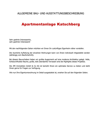 Brochure preview - Bau- und Ausstattungsbeschreibung Resch.pdf