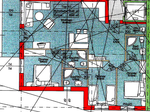 Floorplan - Markt 19, 5602 Wagrain Markt
