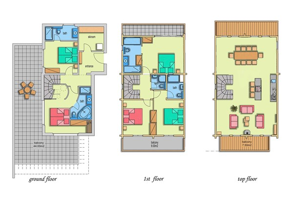 Floorplan - 3906 Saas-Fee