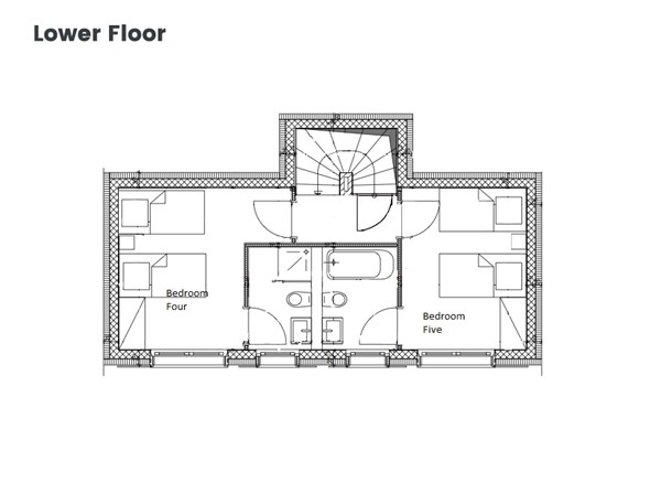 Floorplan - Chemin du Tennis 58, 1987 Hérémence
