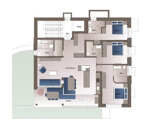Floorplan - Kaltenbrunnen 815, 6863 Egg
