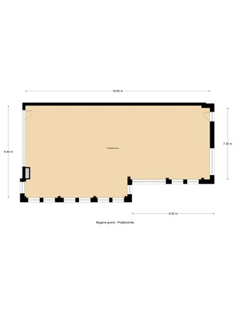 Floorplan - Burgemeester Magneestraat 12, 5571 HD Bergeijk