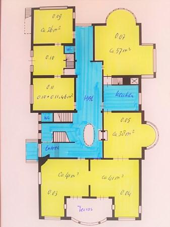 Floorplan - Velperweg 168, 6824 MD Arnhem