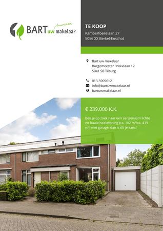 Brochure preview - Kamperfoelielaan 27, 5056 XX BERKEL-ENSCHOT (1)