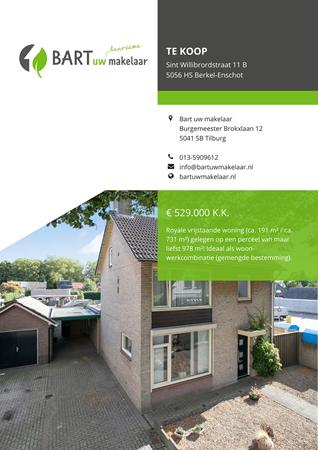 Brochure preview - Sint Willibrordstraat 11-B, 5056 HS BERKEL-ENSCHOT (1)