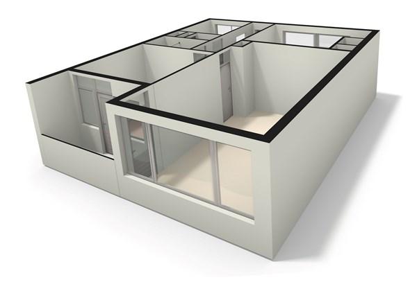 Floorplan - Leverkruidweg 209, 1508 WH Zaandam