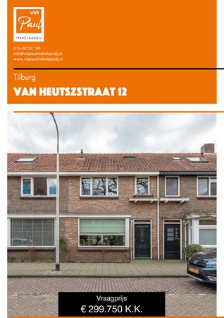 Brochure preview - Van Heutszstraat 12, 5018 EW TILBURG (1)