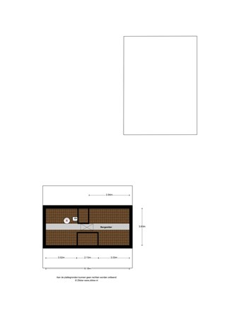 Floorplan - Dubbestraat 24, 5674 AE Nuenen