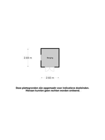 Floorplan - Westerkimme 10, 8316 EA Marknesse