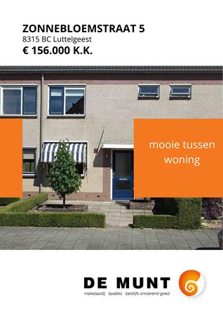 Brochure preview - Zonnebloemstraat 5, 8315 BC LUTTELGEEST (1)