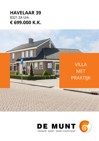 Brochure preview - Havelaar 39, 8321 ZA URK (1)