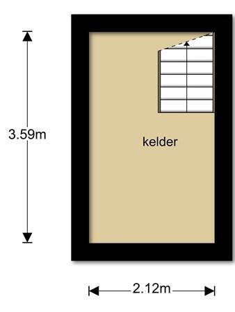 Floorplan - Onderduikersweg 12A, 8302 AE Emmeloord