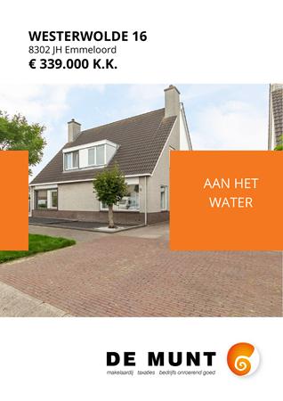 Brochure preview - Westerwolde 16, 8302 JH EMMELOORD (1)