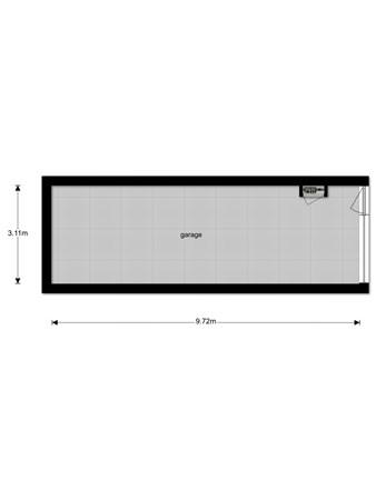 Floorplan - Vissersburen 13A, 8531 EB Lemmer