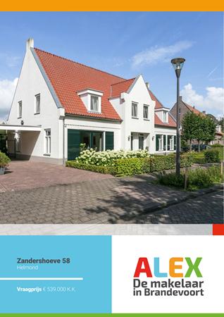 Brochure preview - Zandershoeve 58, 5708 TC HELMOND (1)
