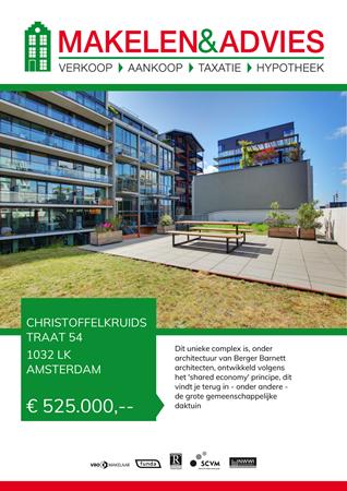 Brochure preview - Christoffelkruidstraat 54, 1032 LK AMSTERDAM (1)