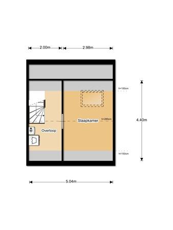 Floorplan - Ruiterijweg 24, 3902 JA Veenendaal