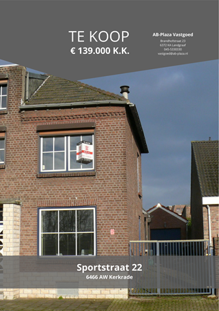 Brochure preview - Sportstraat 22, 6466 AW KERKRADE (4)
