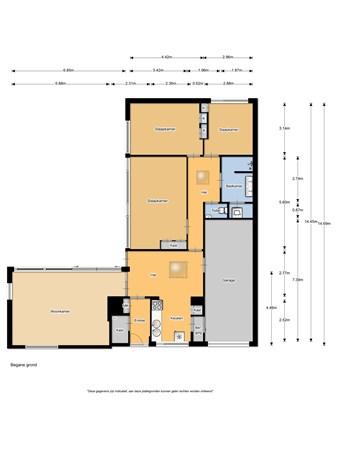 Floorplan - Anemonenlaan 2, 1943 BC Beverwijk