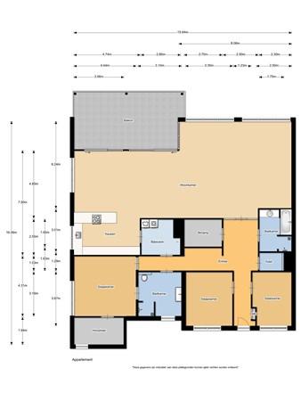Floorplan - Jeronimus Cooymansstraat 32, 1962 VN Heemskerk