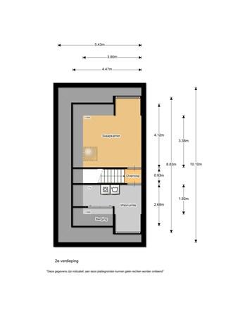 Floorplan - Duitslandlaan 62, 1965 BH Heemskerk