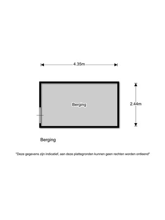 Floorplan - Sneeuwvlok 4, 1567 BL Assendelft