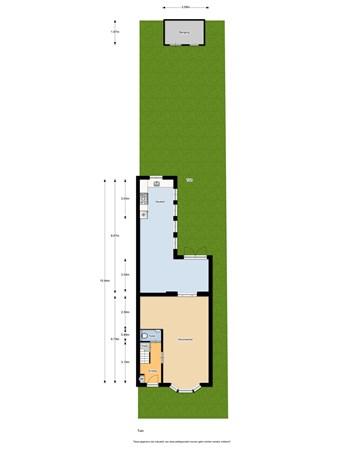 Floorplan - Dorpsstraat 652, 1566 EM Assendelft