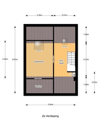 Floorplan - Dashorst 7, 3833 GE Leusden