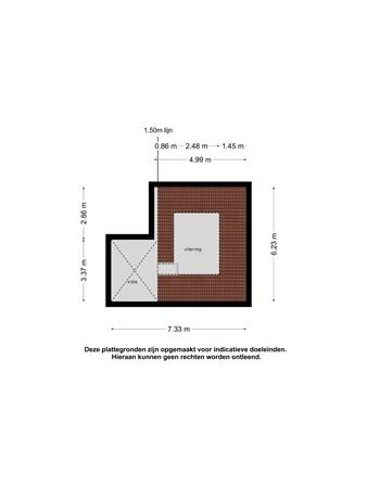 Plattegrond - Korte Kerkstraat 22, 4531 CL Terneuzen - vliering.jpg