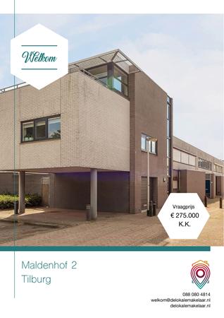 Brochure preview - Maldenhof 2, 5045 KM TILBURG (1)