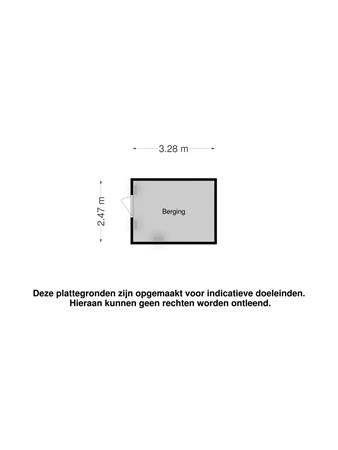 Floorplan - Akkrumstraat 53, 5036 CJ Tilburg