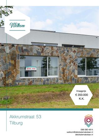 Brochure preview - Akkrumstraat 53, 5036 CJ TILBURG (1)