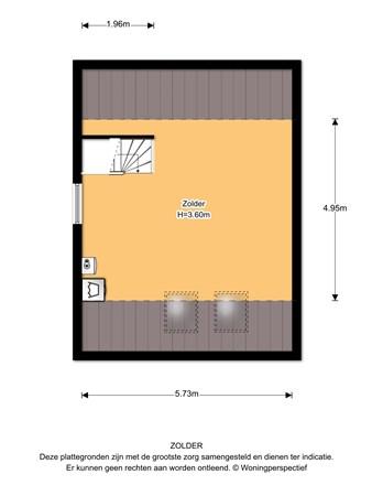 Floorplan - Schoolstraat 88, 6744 WS Ederveen