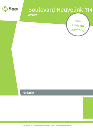 Brochure preview - Boulevard Heuvelink 114, 6828 KV ARNHEM (1)