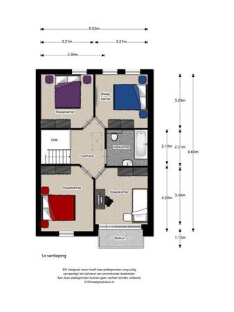 Floorplan - Krijtenberg 4, 8131 GA Wijhe