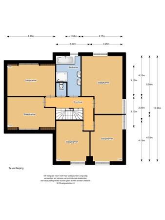 Floorplan - Overmaterhoek 41, 8131 SW Wijhe