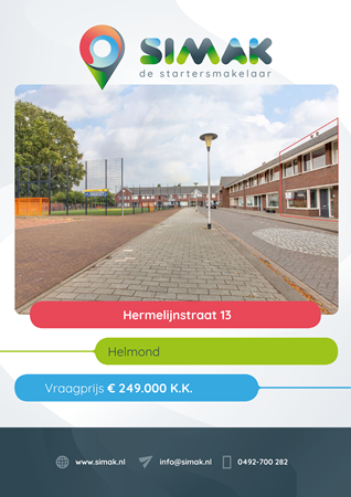 Brochure preview - Hermelijnstraat 13, 5701 VB HELMOND (1)