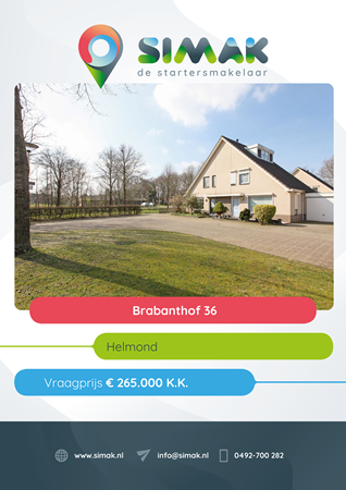 Brochure preview - Brabanthof 36, 5709 EM HELMOND (1)