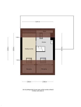 Floorplan - Van Lingelaan 77, 3602 PB Maarssen