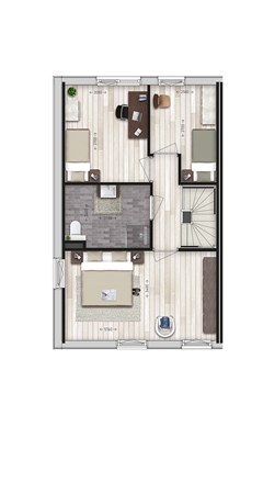 Floorplan - Parkwoning XL type G Bouwnummer 21, 6515 AE Nijmegen