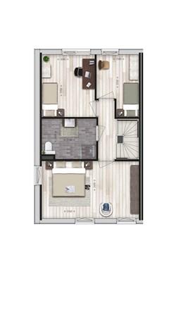 Floorplan - Parkwoning XL type G Bouwnummer 32, 6515 AE Nijmegen