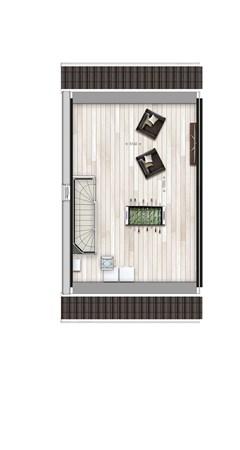 Floorplan - Hoekwoning type K1 Bouwnummer 1, 6515 AE Nijmegen