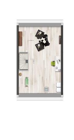 Floorplan - Parkwoning XL type H1 Bouwnummer 39, 6515 AE Nijmegen